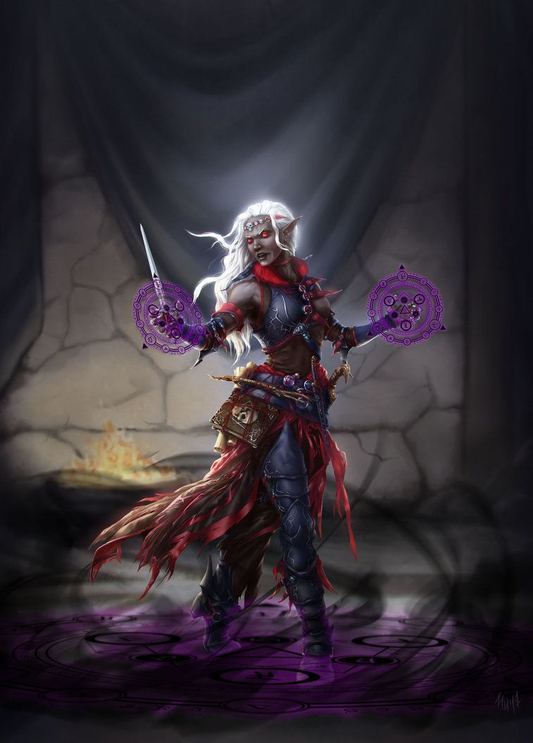 I.pinimg.com Help Find A Photo Of A Female Drow That Isn T Half Naked Dndnext