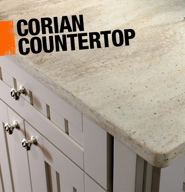 Corian Is A Solid Surface Countertop Material Made From