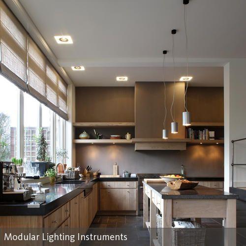 Natürliche Küche durch Holz und Granit Dunkle arbeitsplatten - helle holzmobel trend naturliche wahl fur zuhause