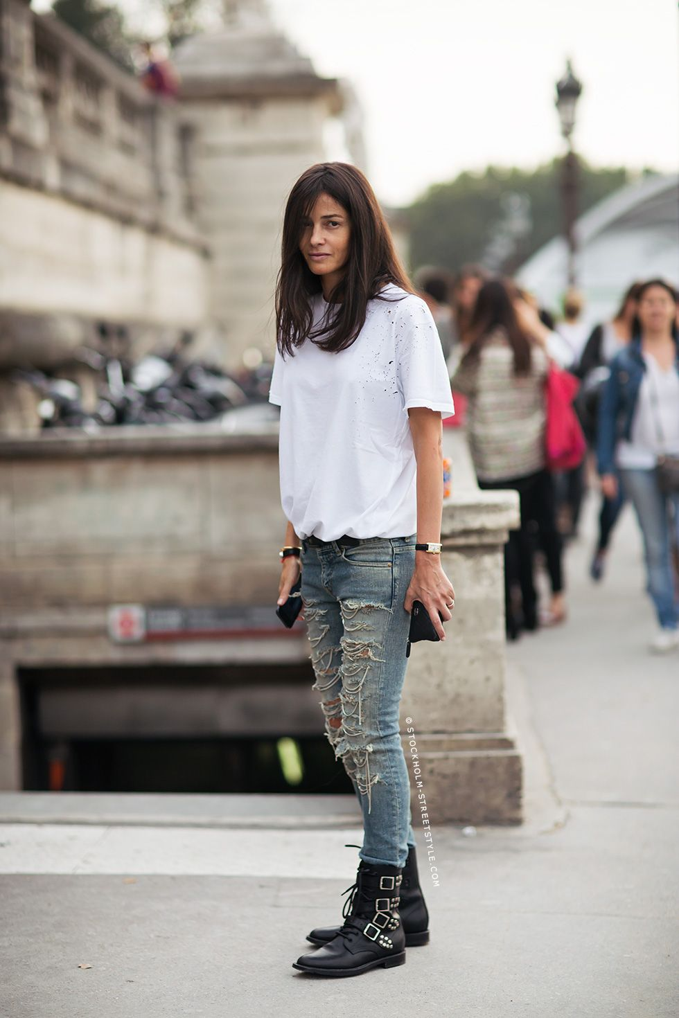 Style 101 How To Wear Your Jeans With Boots Biker Boots