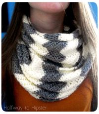 Free Chevron Scarf Pattern | Chevron scarves, Scarf ...