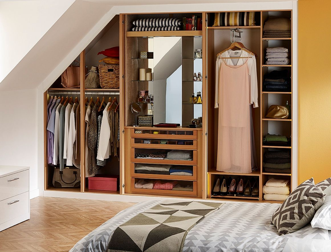Working Wardrobes Clever Wardrobe Storage With A Glamour Cabinet For All