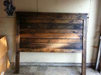 reclaimed wood bed headboard - Google Search   Furniture ...