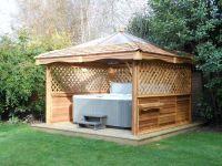 Cedar Lodge Spa Gazebo - Cedar Hot Tub Gazebos, nationwide ...