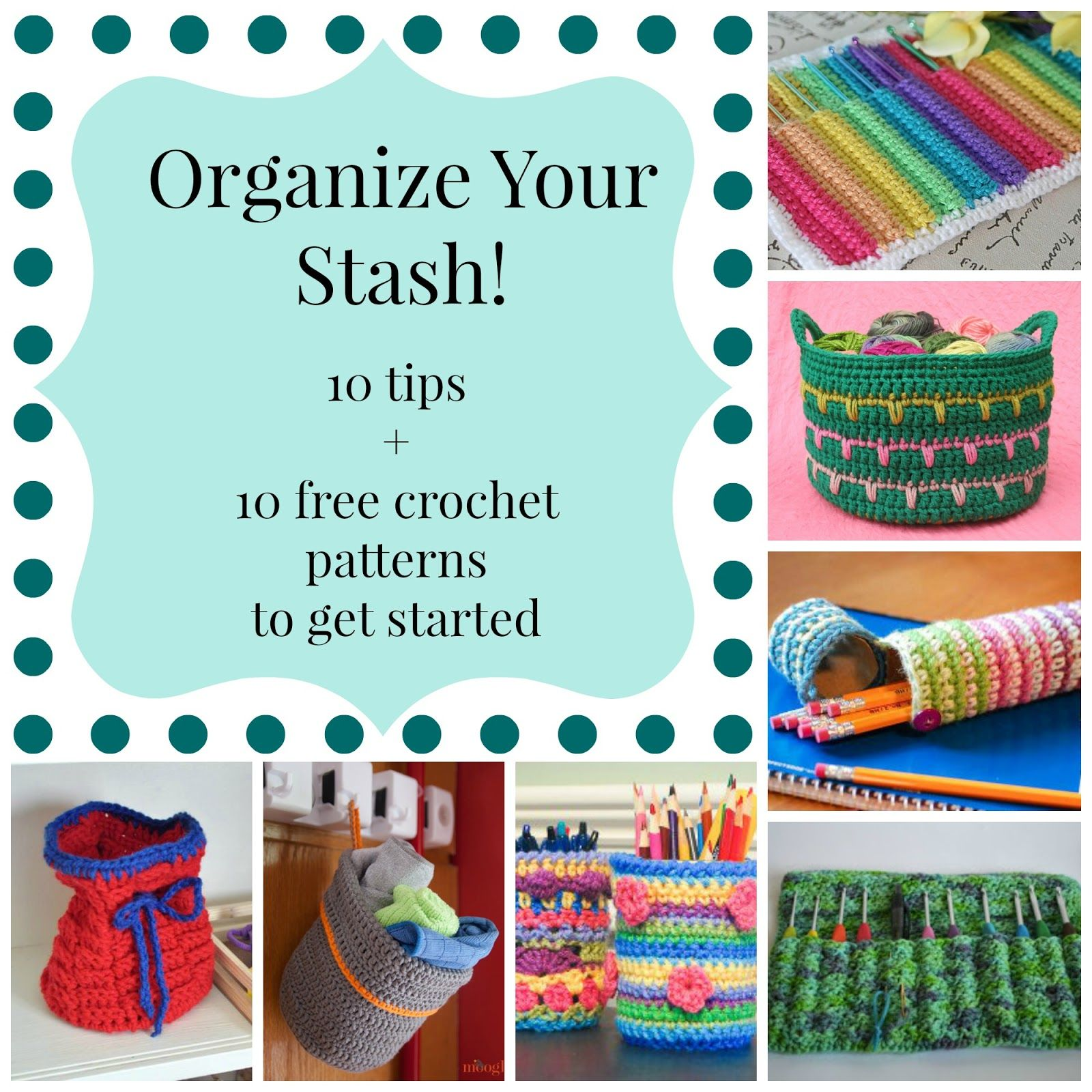 Coraline Pdf Libro Organize Your Stash 10 Tips 43 10 Free Crochet Patterns To