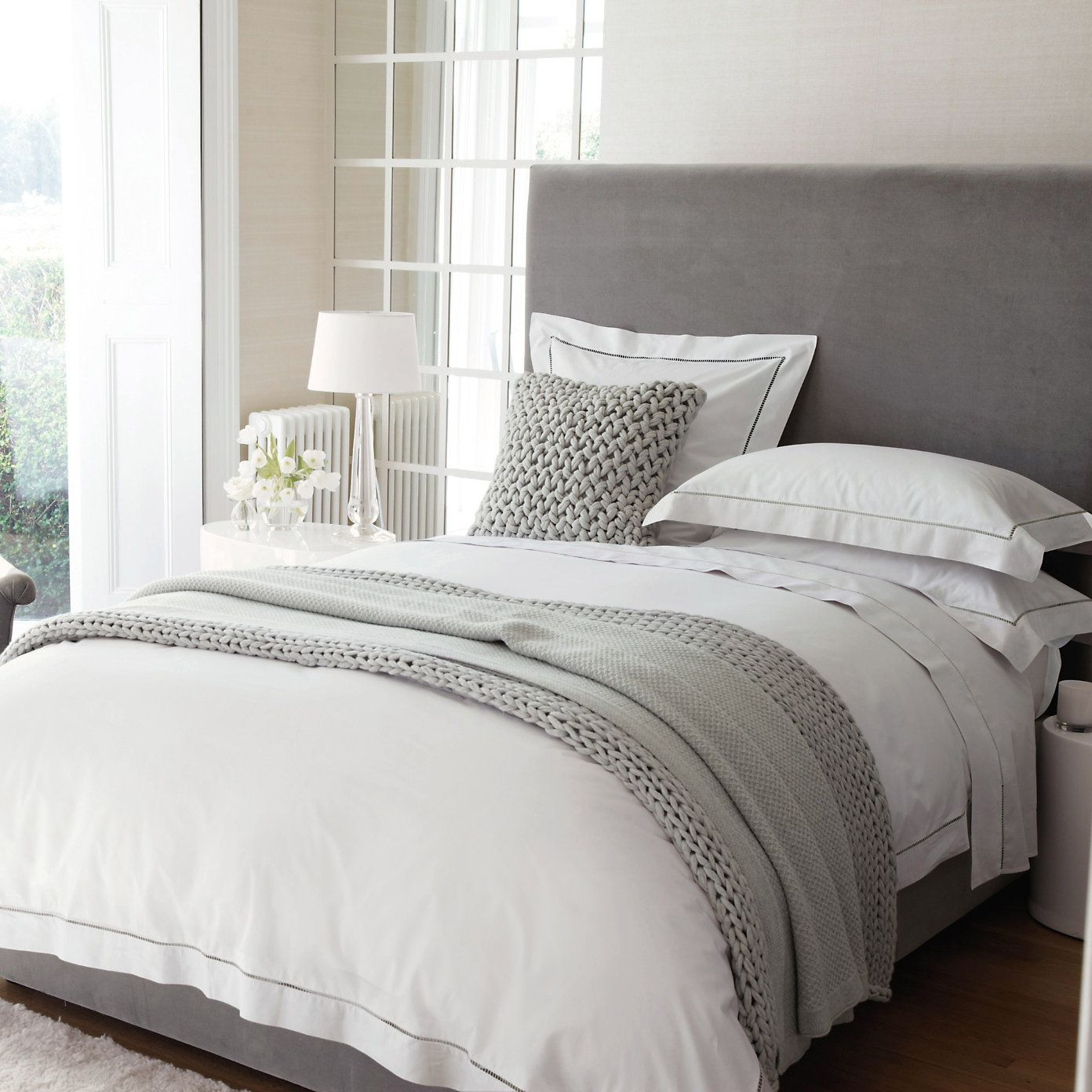 Pale Grey Bedroom I Love These Pale Grey Neutrals For Bedrooms And Like The