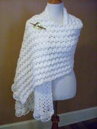 One Skein Summer Wrap By Marty Miller - Free Crochet ...