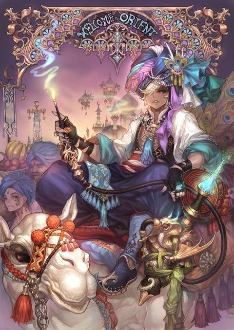 Boy And Girl Anime Wallpaper 「arabian Nights」 「olivia」のイラスト Pixiv Pathfinder