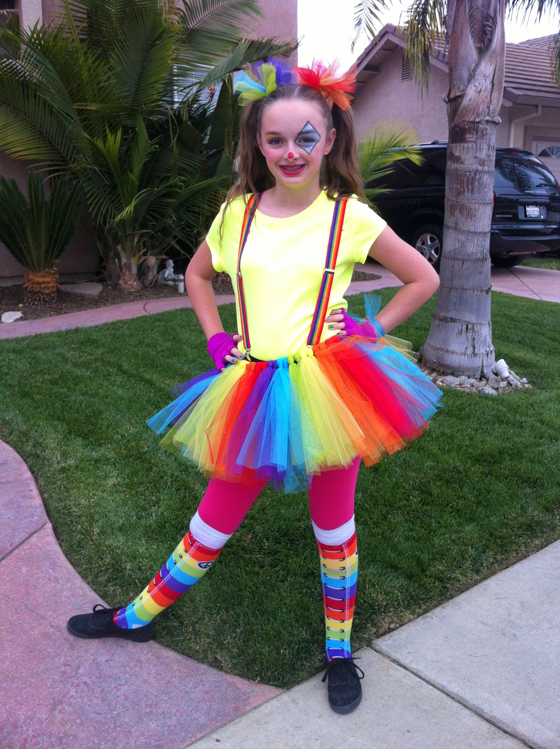 Einfache Kostüme Quotcute Clown Quot Easy Costume And Simple Makeup Inspired By A
