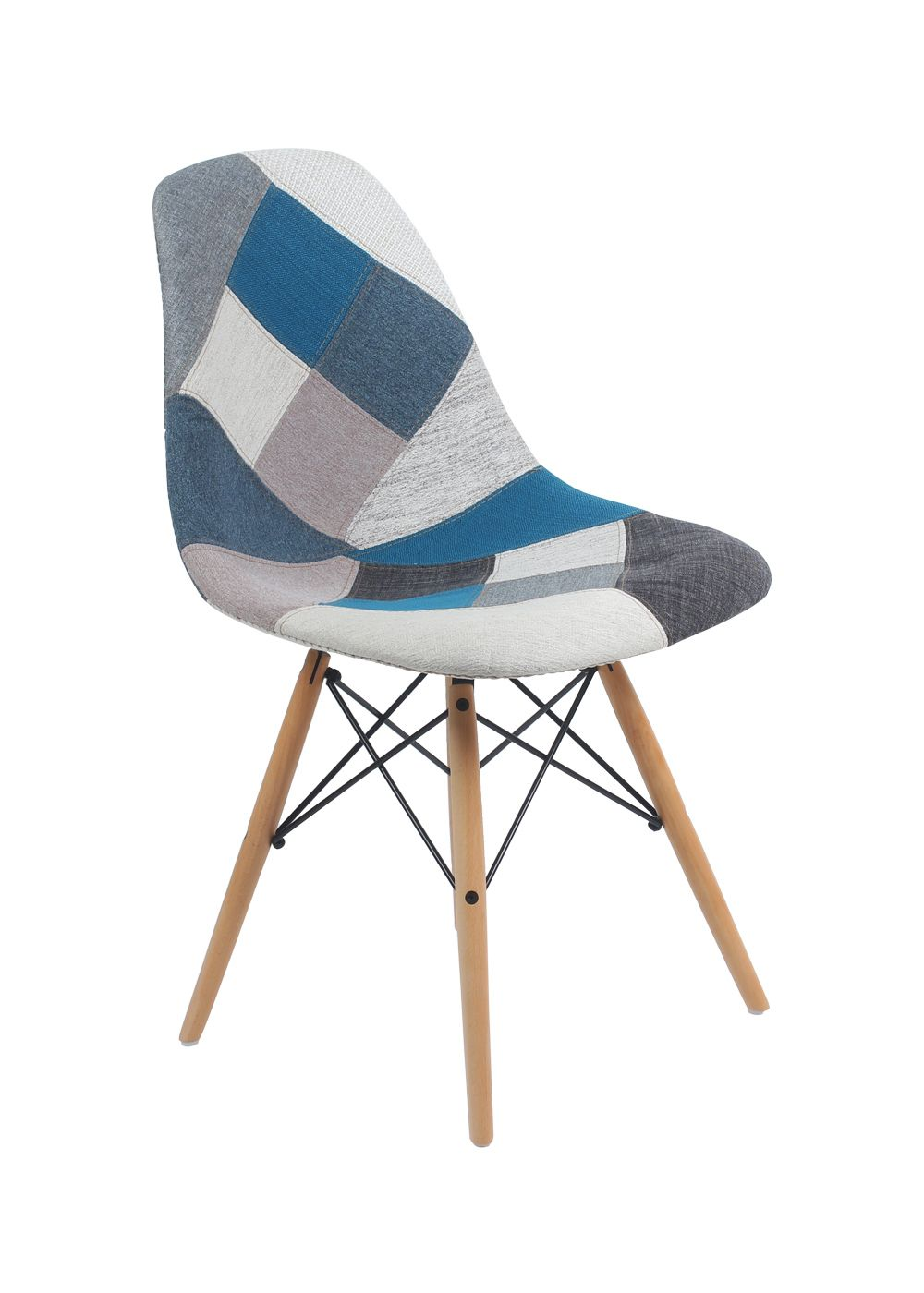 Chaises Daw Eames Chaise Patchwork Xl Style