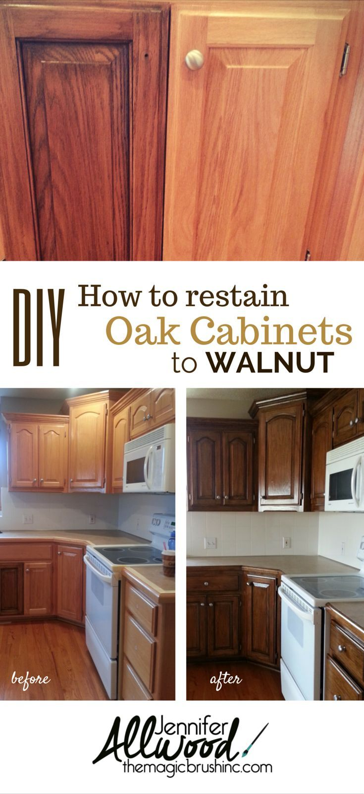 restaining kitchen cabinets Cabinets and Furniture Finishes