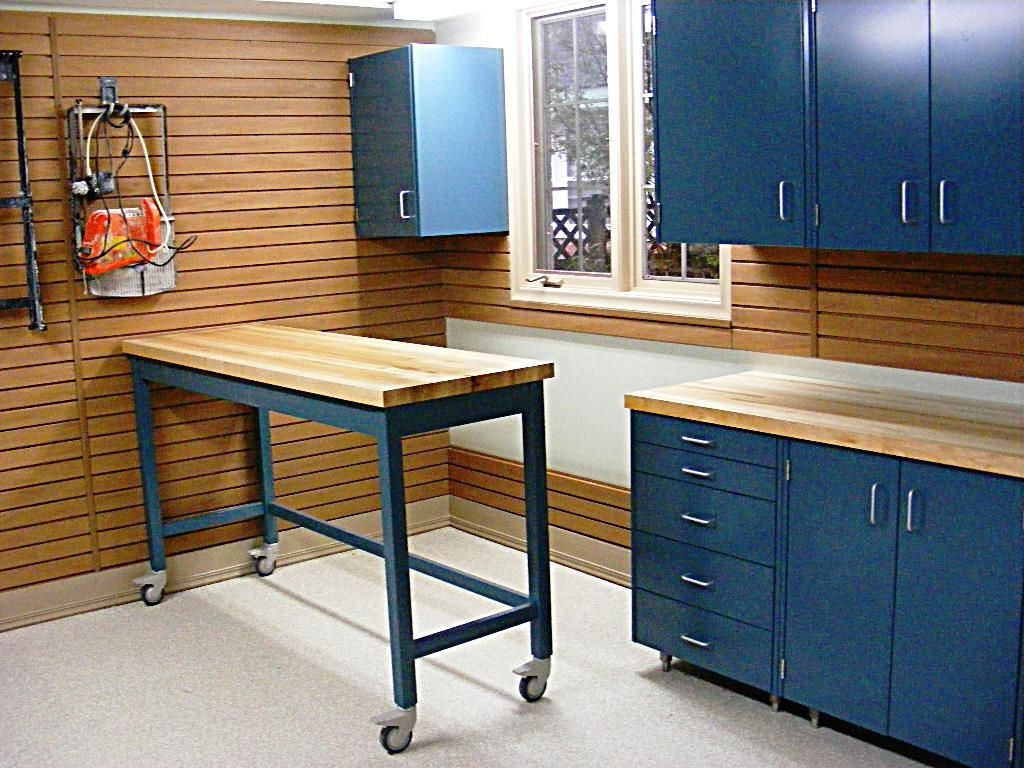 Workshop Countertop Garage Countertop Ideas Home Designs Cool Garage Workbench