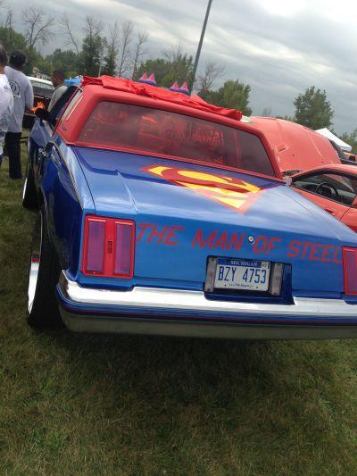 Superman car | Lowrider Stuff | Pinterest | Cars and Superman