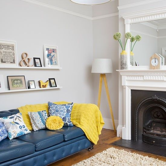 69 Fabulous Gray Living Room Designs To Inspire You Living room - yellow and grey living room