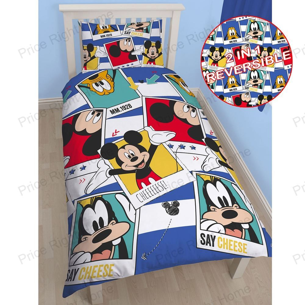 Bettwäsche Mickey Mouse Details Zu Mickey Mouse