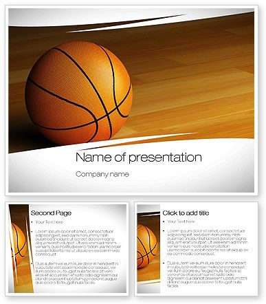 Nice Basketball picture on PowerPoint Template Sports Love - basketball powerpoint template