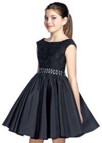 Lexie by Mon Cheri TW21534 Elegant Black Girls Party Dress ...