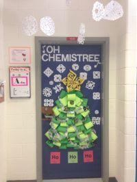 Science Themed Christmas Door Decorations | Psoriasisguru.com