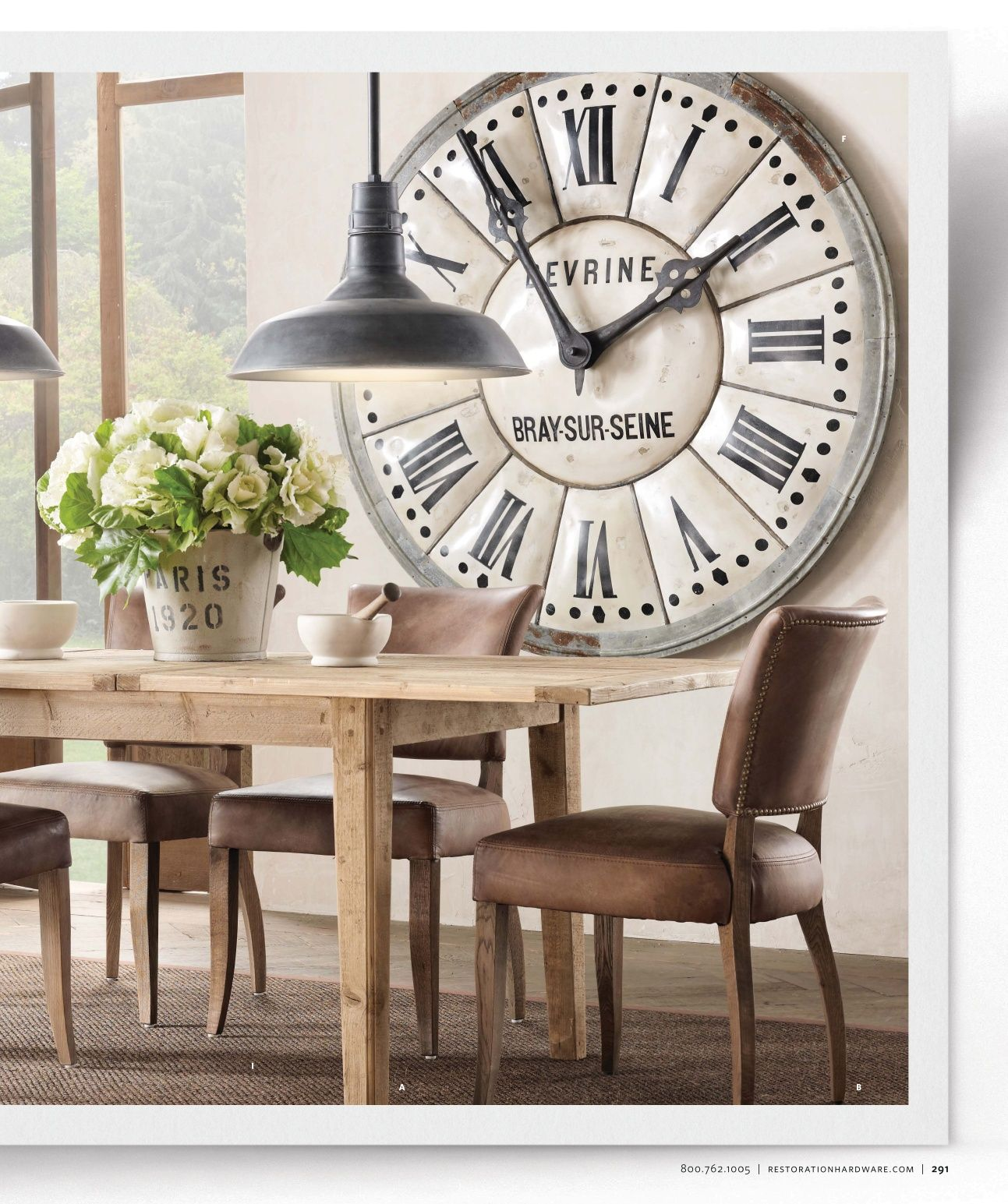 Where To Hang Wall Clock In Living Room Large Clock In Dining Room Living Room Spiration