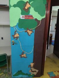 Jungle Safari Themed Classroom Door Decor