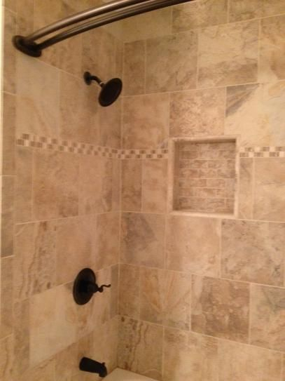 Daltile Folkstone Slate Sandy Beach 12 in x 12 in Porcelain - home depot bathroom tile ideas