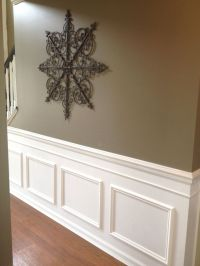 DIY Classic Wainscoting Tutorial | Faux wainscoting ...