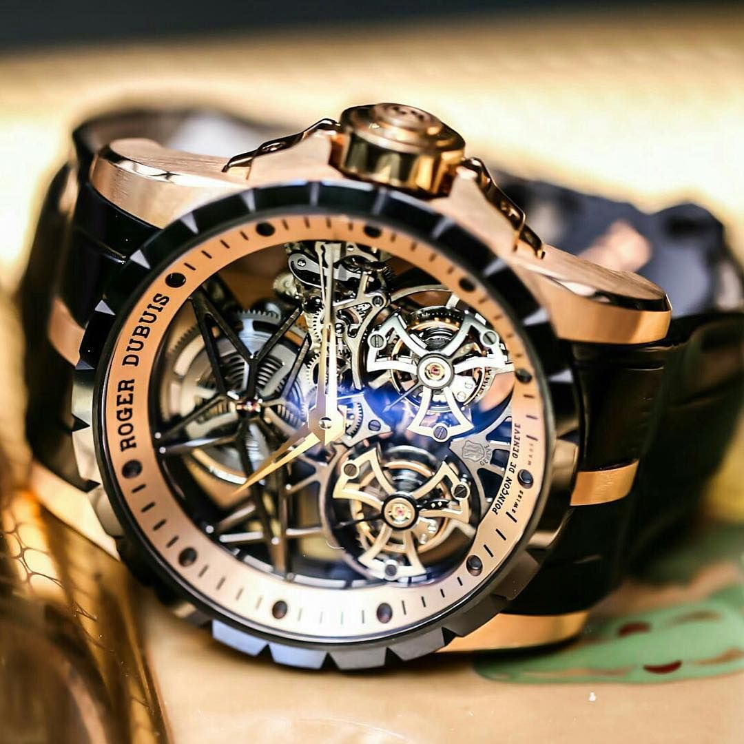 Luxury Watch Brands For Mens Roger Dubuis Excalibur Men Watches Pinterest