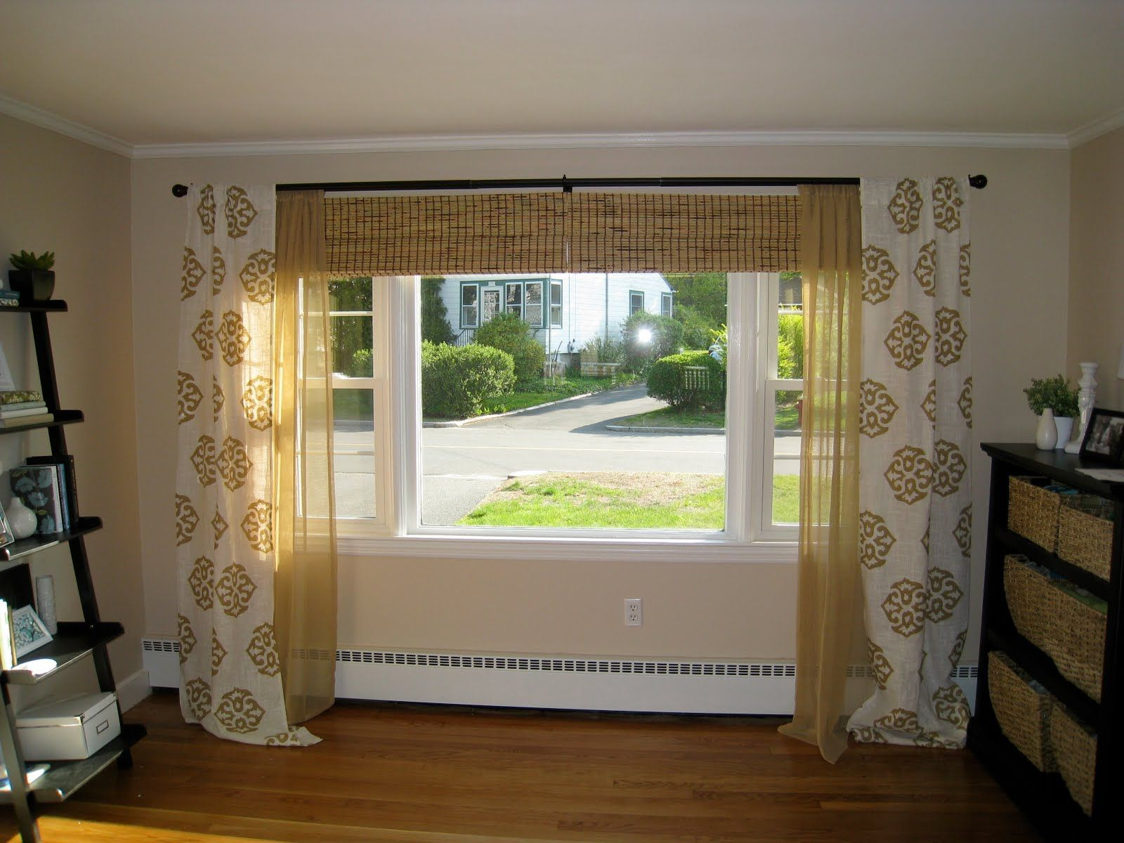 17 best ideas about 3 window curtains on pinterest bay window curtain inspiration bay window curtains and diy bay window blinds
