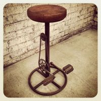 Bicycle Bar Stool | Creative, Industrial and Furniture