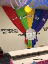 """Wall decoration Disney Pixar's """"Inside Out"""" themed ..."""