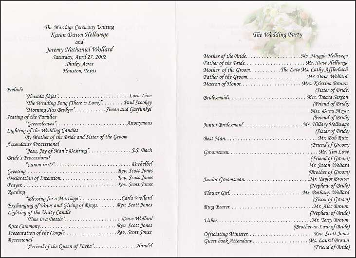 Google Image Result for http\/\/wwwthe-wedding-printer\/blog\/wp - wedding agenda sample