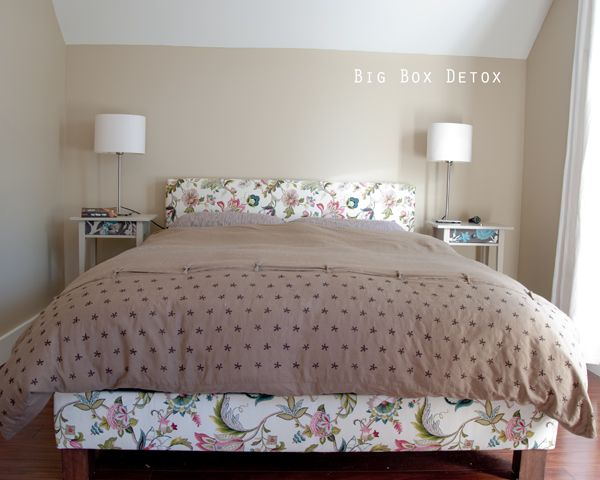 I Should Make My Own Upholstered Bed Frame! I'Ve Been Meaning To