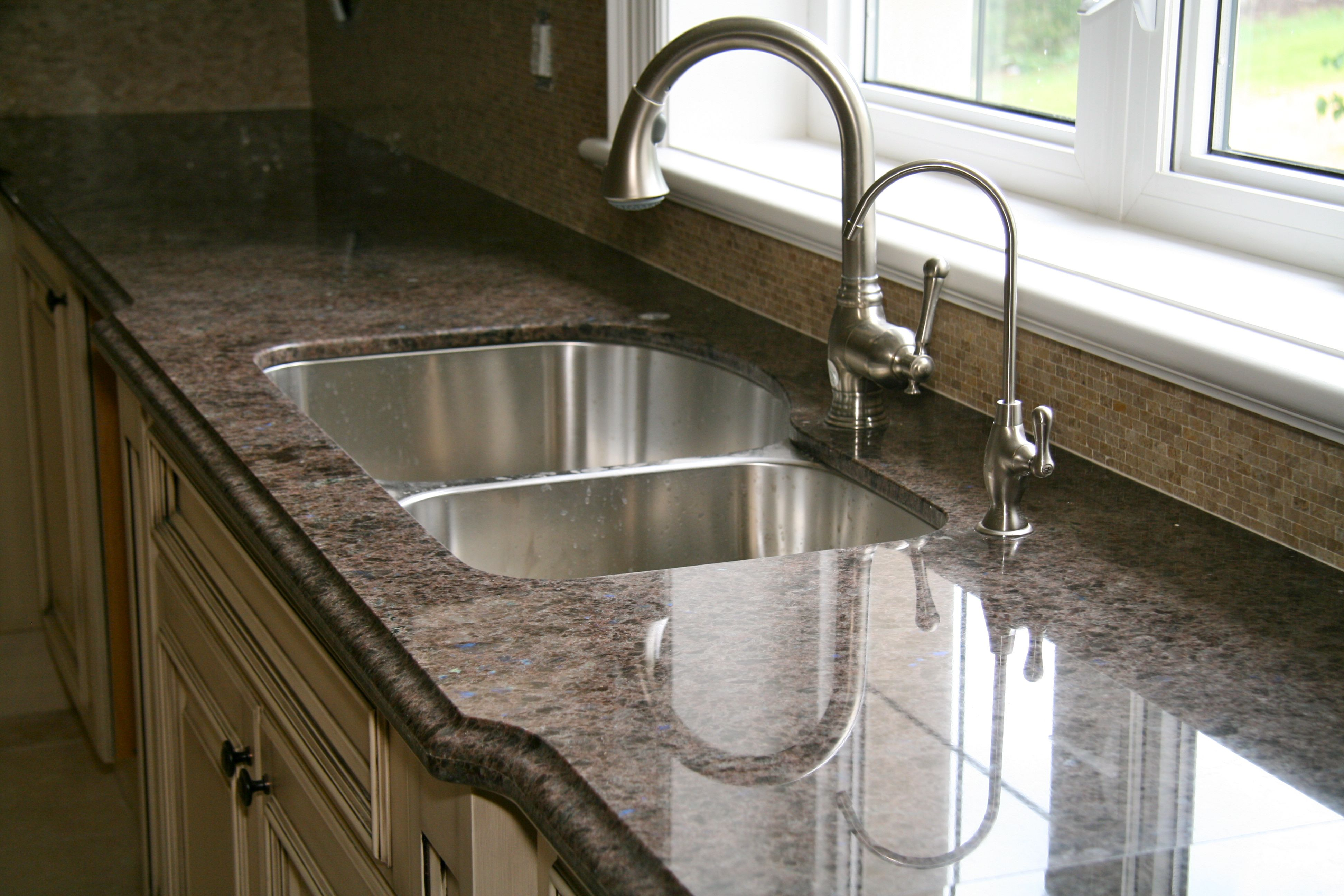 Kitchen Faucets For Granite Countertops Labrador Antique Granite Marbleandmarble
