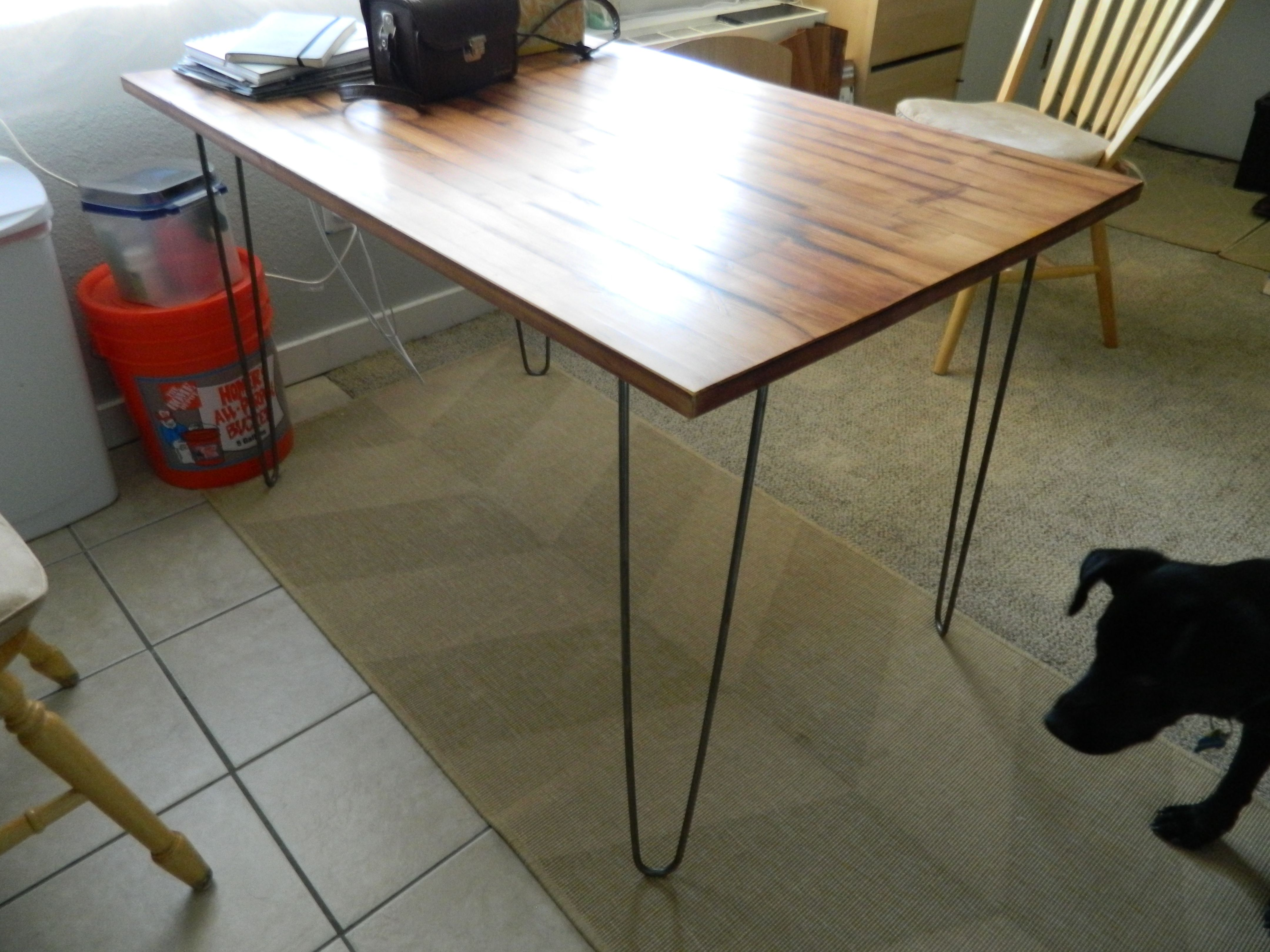 Hairpin Legs Ikea After Hairpin Leg Dining Table Furniture Pinterest