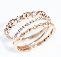 The 25+ best Rose gold stackable rings ideas on Pinterest ...