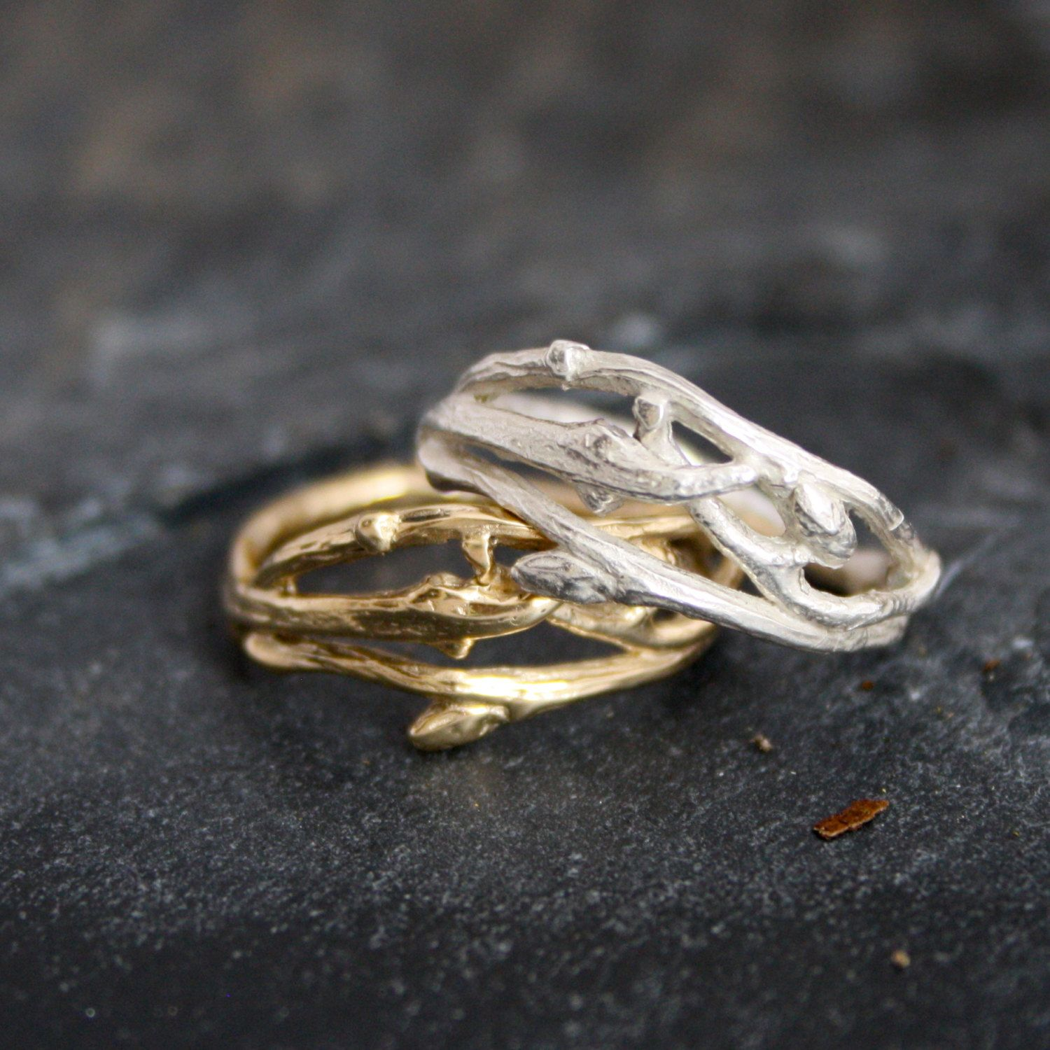 pagan wedding rings nature inspired engagement rings Google Search