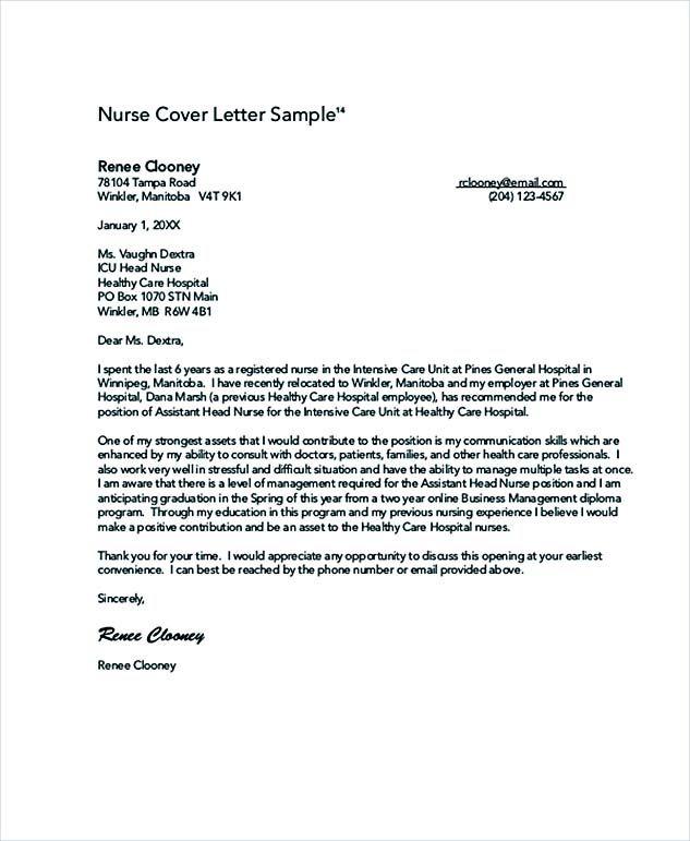 ... Nursing Cover Letter Sample How Write Perfect Format Application   Telehealth  Nurse Cover Letter ...