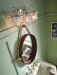 Nautical Bathroom Light Fixtures  | Pinteres