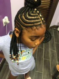 Kids Tribal Braids by @shugabraids