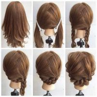 Fashionable Braid Hairstyle for Shoulder Length Hair ...