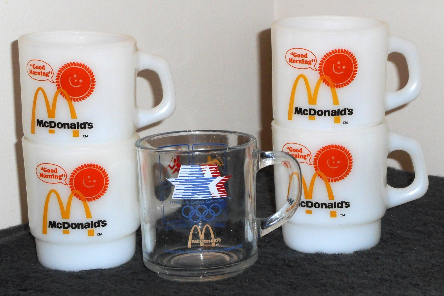Tea Mugs For Sale For Sale Mcdonalds Coffee Mug Lot Fire King Milk Glass