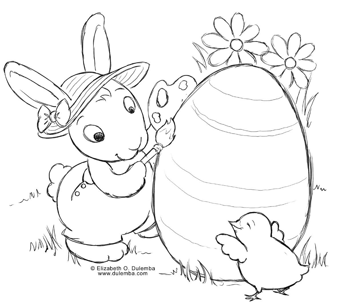 Easter coloring printable easter coloring free easter coloring online easter coloring for adults
