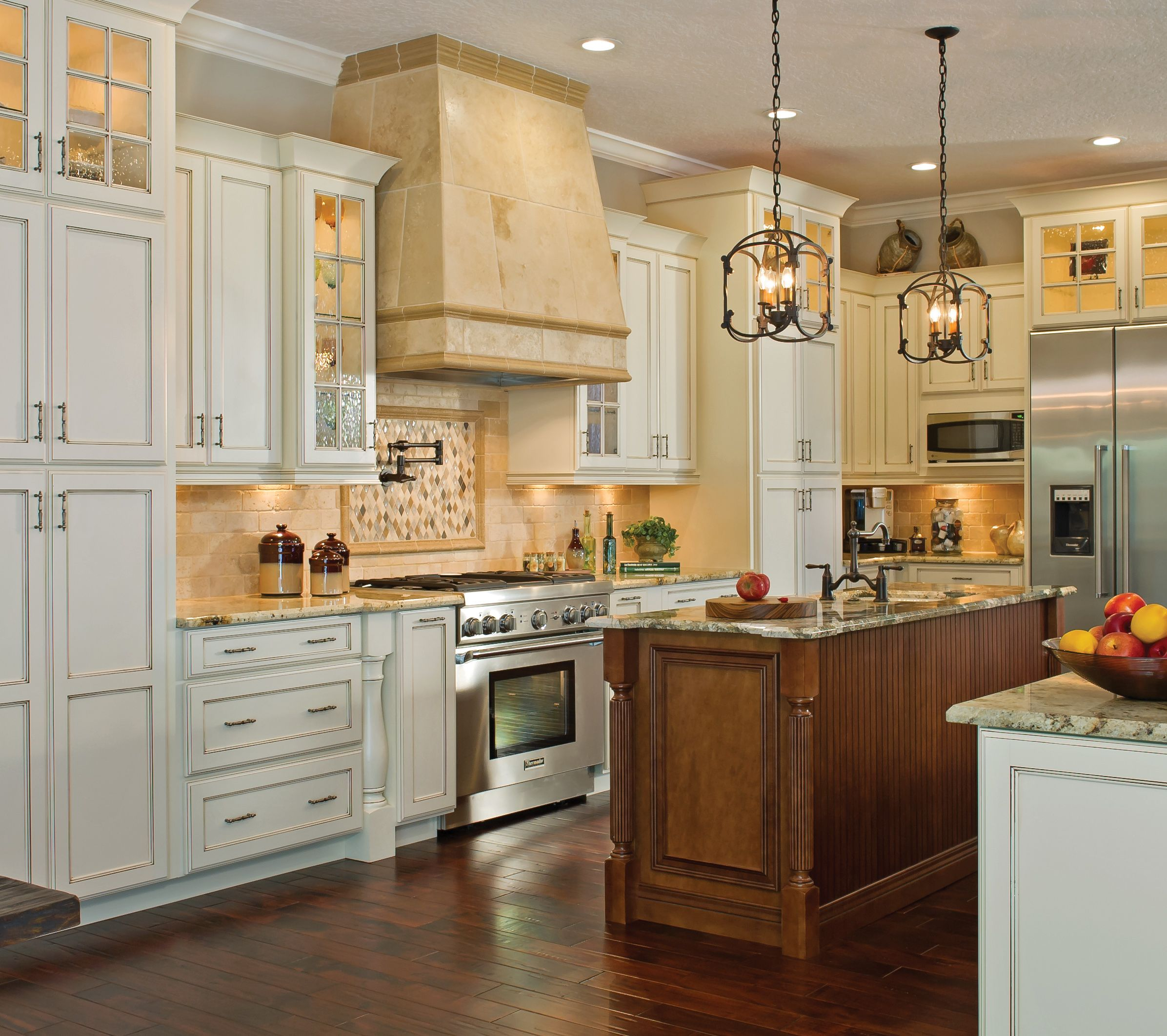 Kitchen Design Ideas Traditional Traditional Kabinart Kitchen Shown In Hampton On Maple