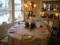 pictures of dining tables decorated | Dining Room Table ...