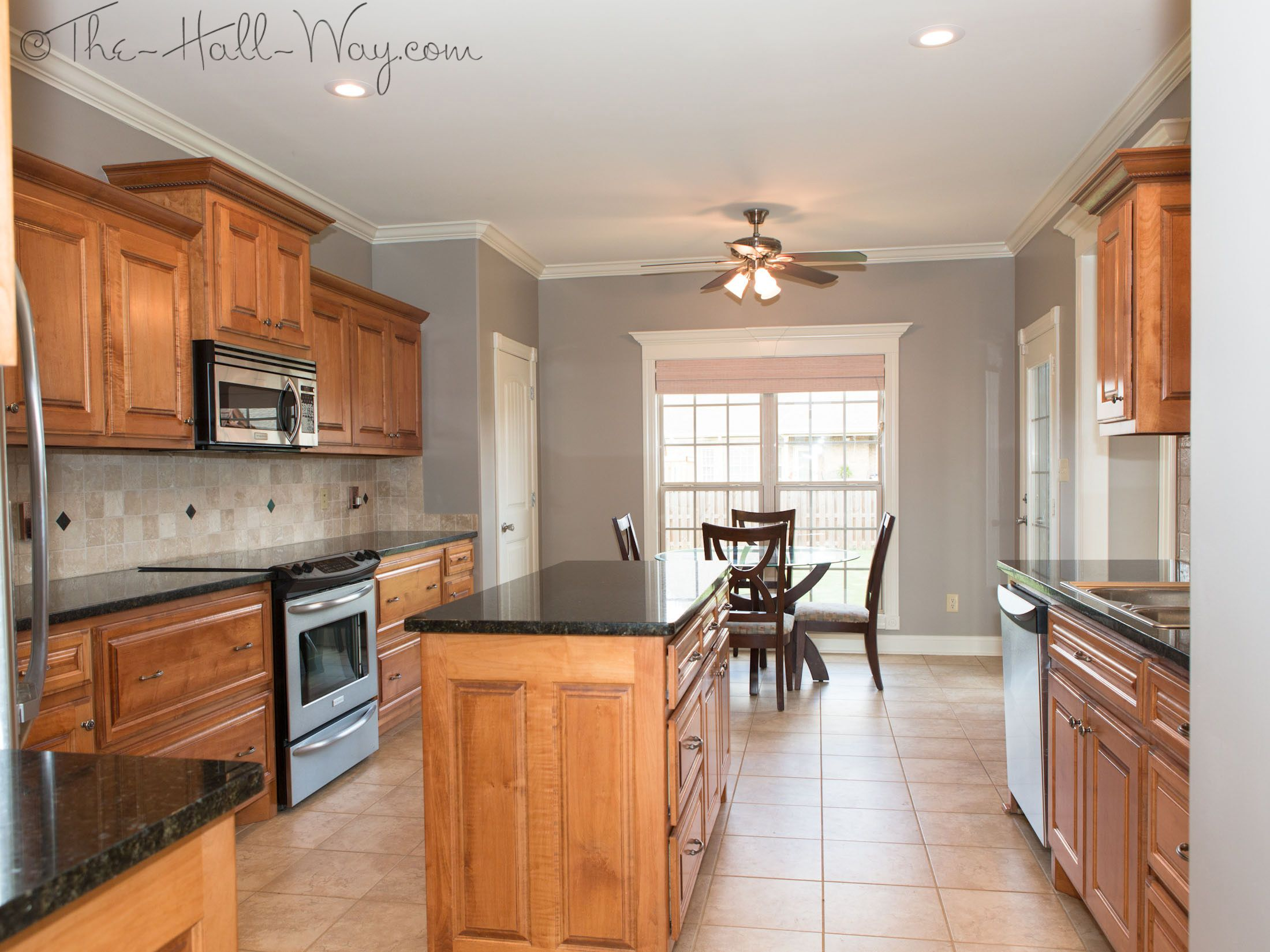 gray kitchen table Kitchen paint color perfect taupe