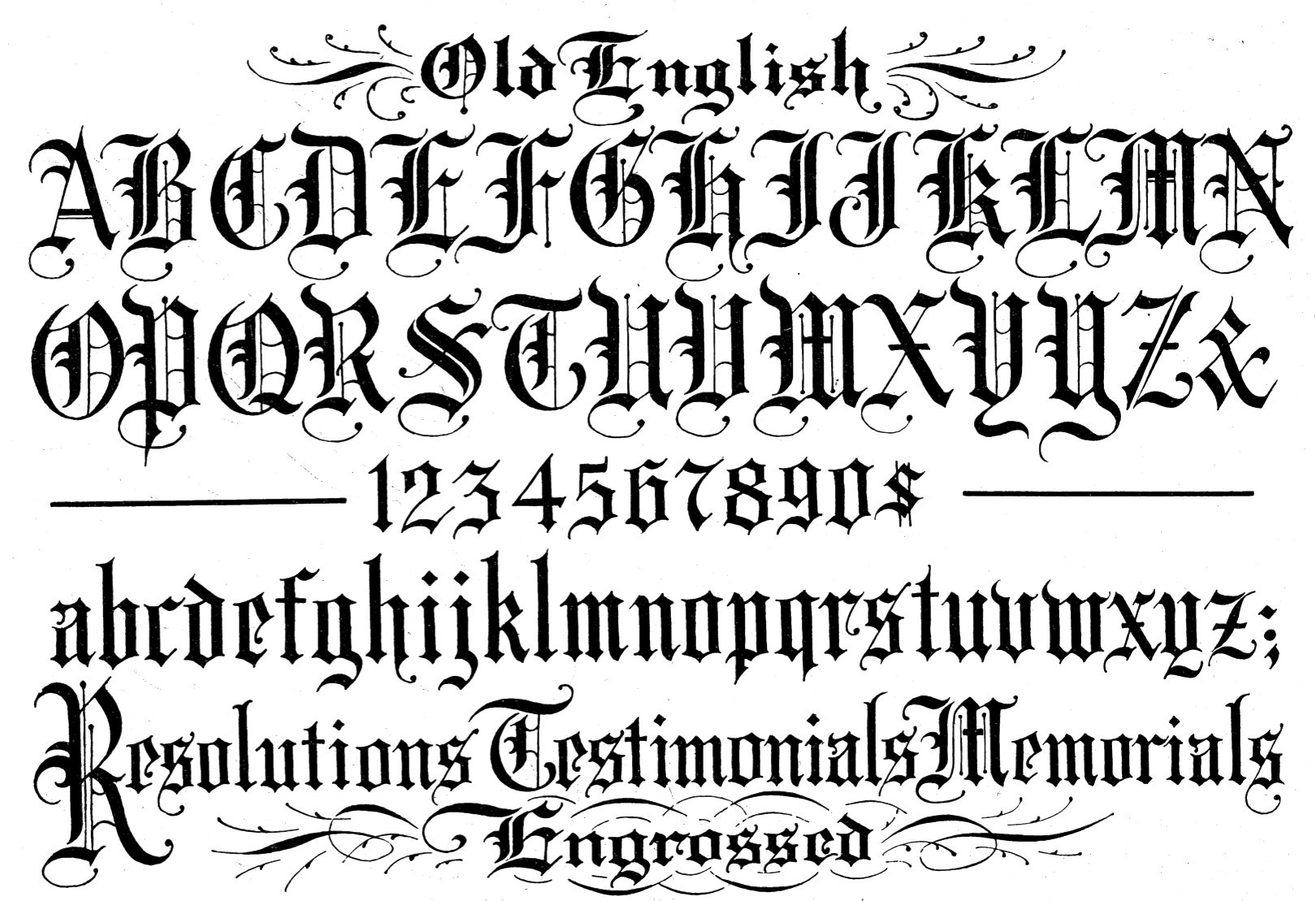 Old Calligraphy Font Free Old English Font Hd Wallpapers Download Free Old English