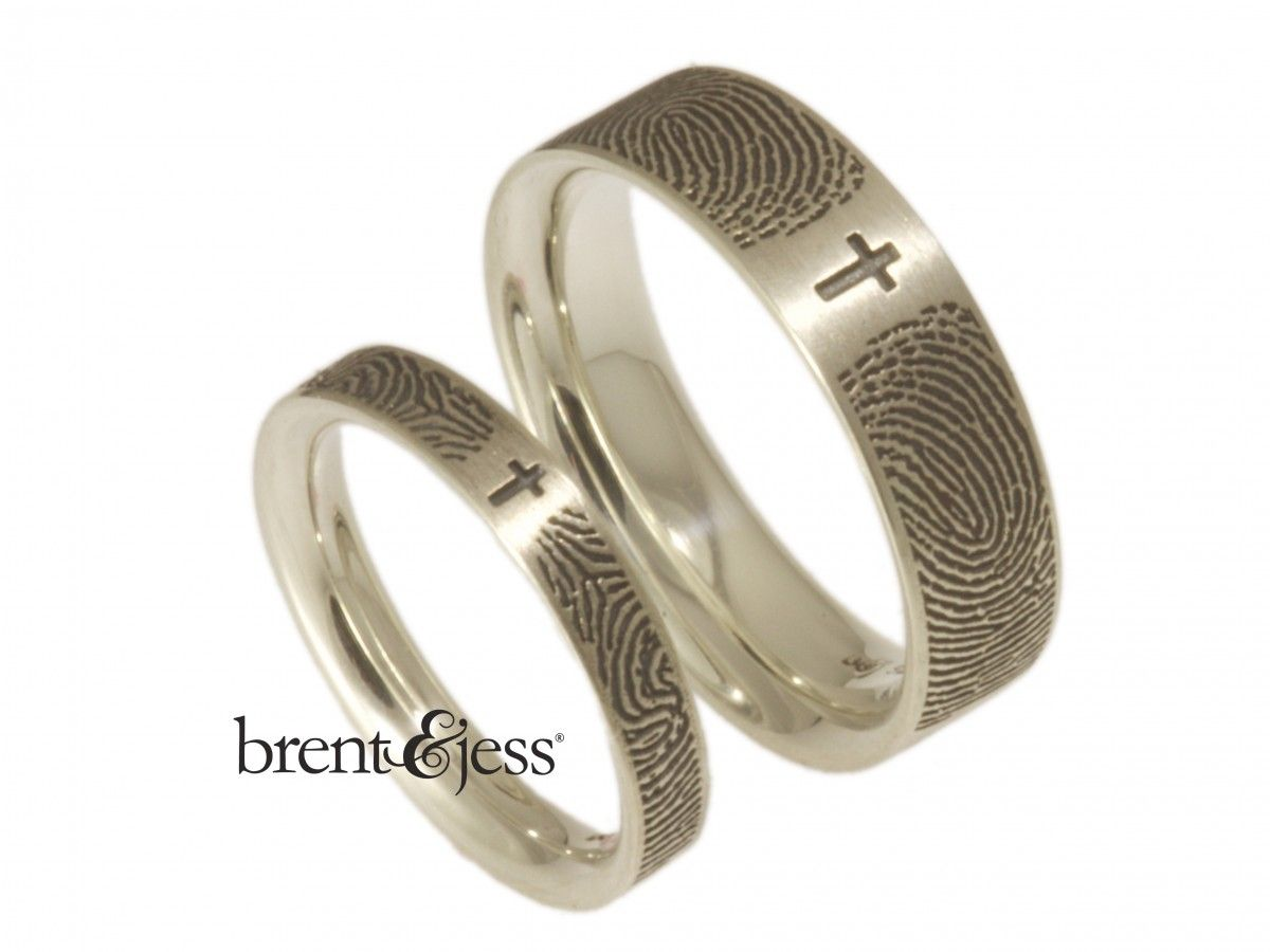 wedding rings with crosses on them cross wedding bands
