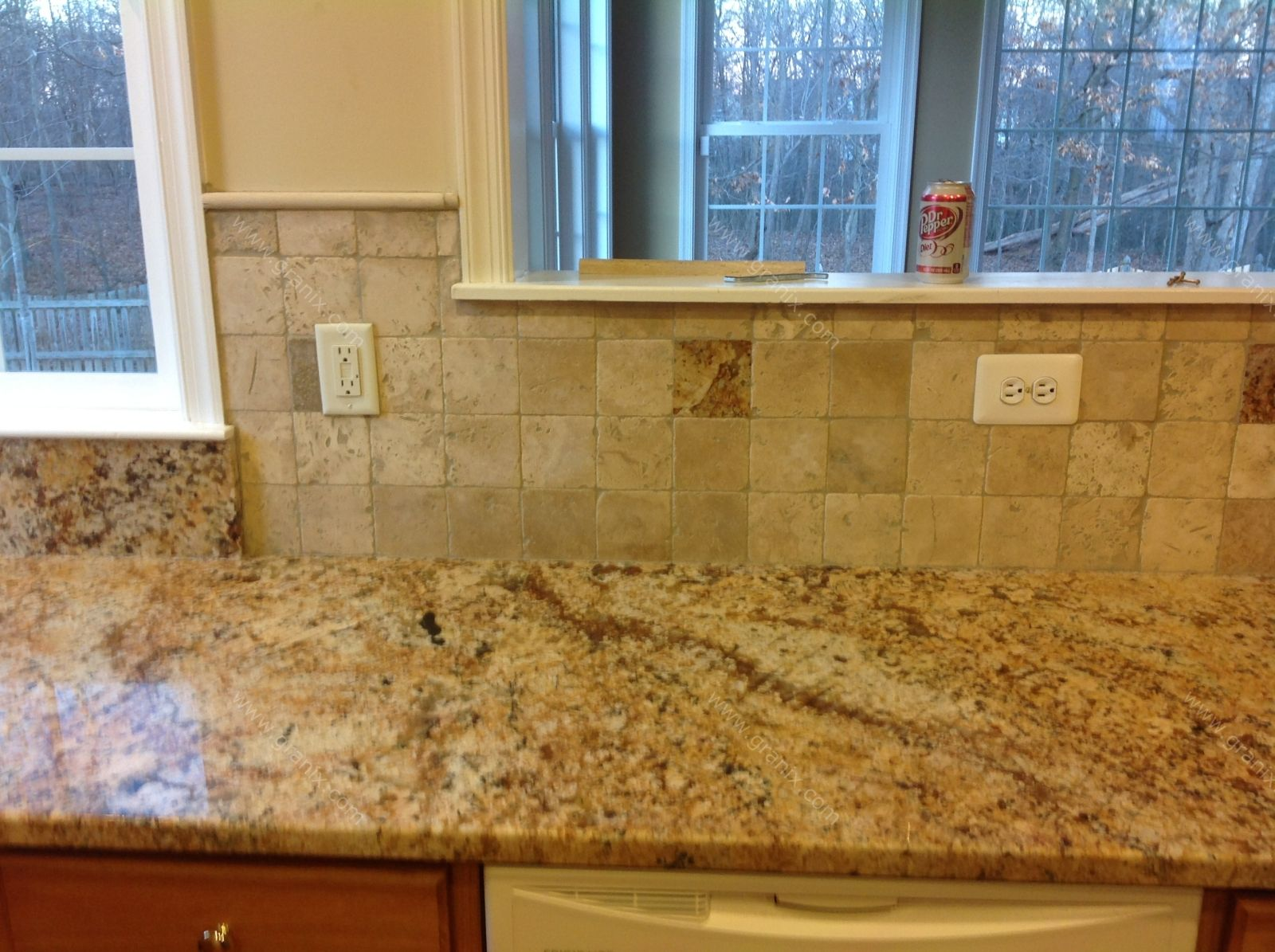 Kitchen Tiles Granite Backsplash For Busy Granite Countertops Diana G
