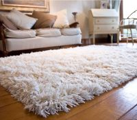 White Fuzzy Area Rug | Rugs | Pinterest | Dorm, Room and ...