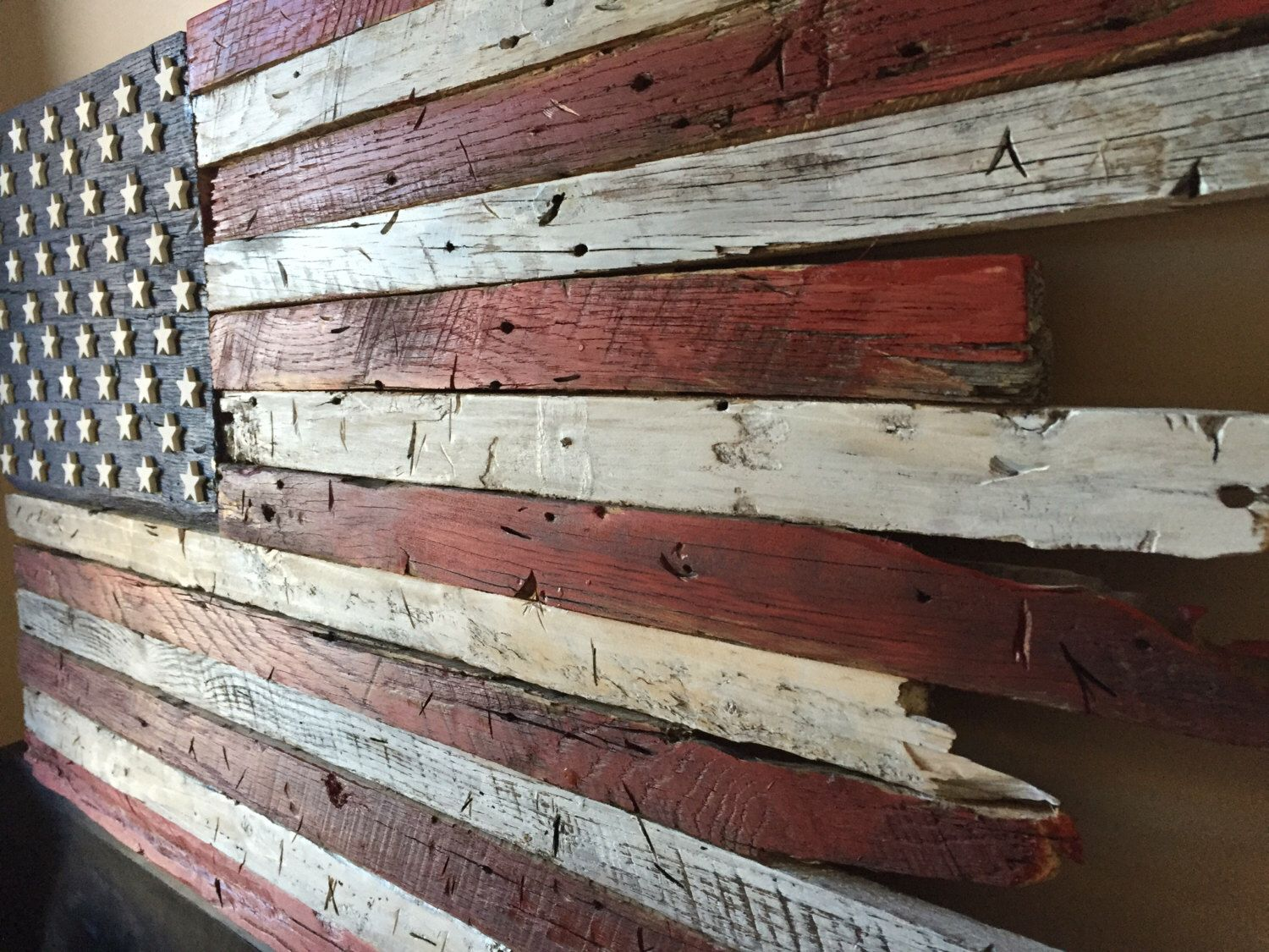 Barn Wood Art Ideas Wooden Flag Barn Wood American Flag Wooden American Flag